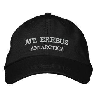 Mt. Erebus, Antarctica Adjustable Hat