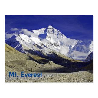 Mt. Everest Base Camp Tibetan side Postcard