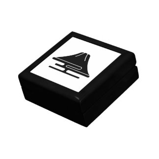 Mt.Fuji and haze Small Square Gift Box