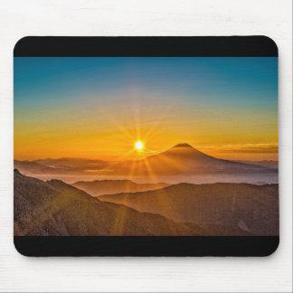 Mt.fuji and sunrise mouse pad