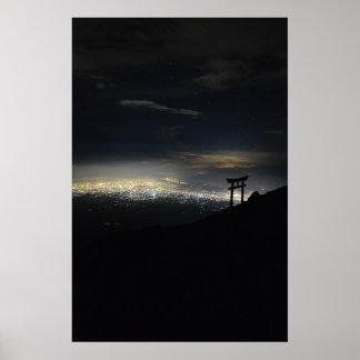 Mt. Fuji Ascent Print