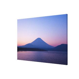 Mt. Fuji from lake Motosu Canvas Prints