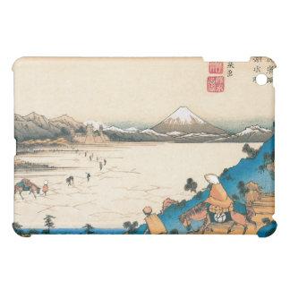 Mt Fuji Fuji-san Japan Circa 1800 s iPad Mini Cover