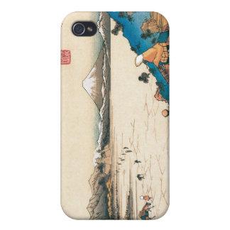 Mt Fuji Fuji-san Japan Circa 1800 s Case For iPhone 4