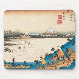Mt Fuji Fuji-san Japan Circa 1800 s Mouse Pad