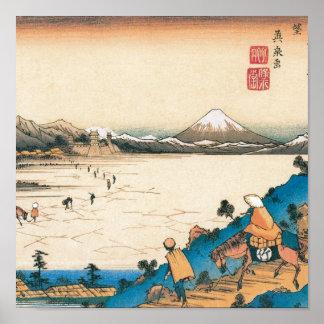 Mt Fuji Fuji-san Japan Circa 1800 s Poster