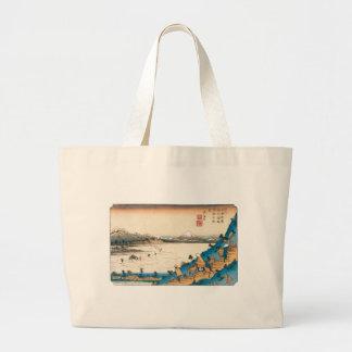 Mt. Fuji, Fuji-san. Japan. Circa 1800's. Tote Bags