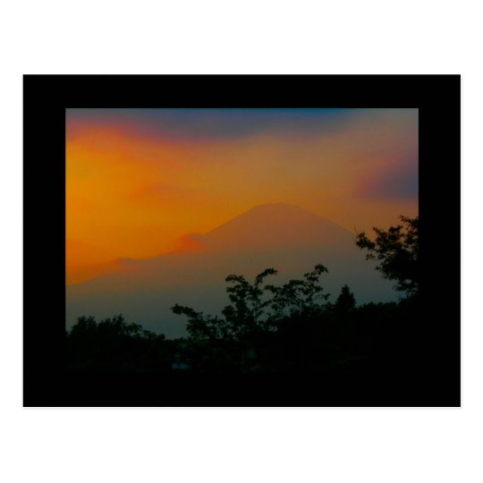 Mt. Fuji, Japan Postcard
