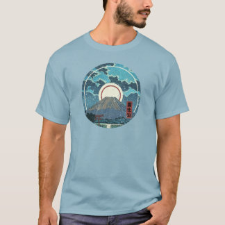 Mt. Fuji Moon T-Shirt
