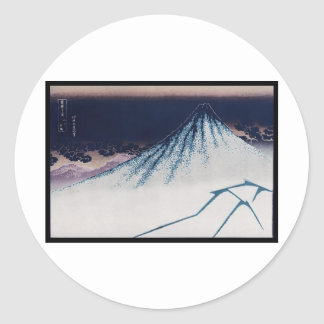 Mt. Fuji, Poster of Japanese painting c. 1830-1832 Sticker
