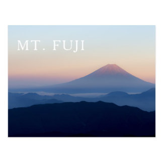 Mt. Fuji Sunrise Japan Postcard