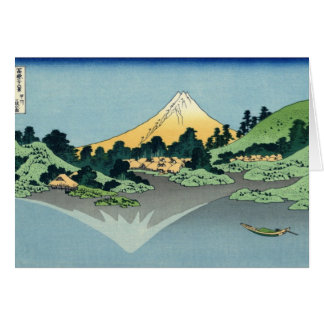 Mt. Fuji view 25 Card