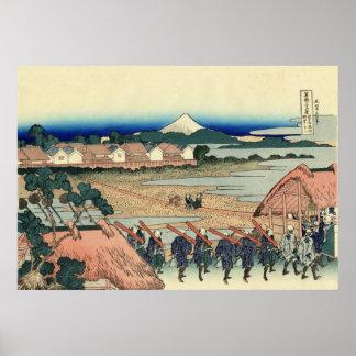 Mt. Fuji view 36+03 poster