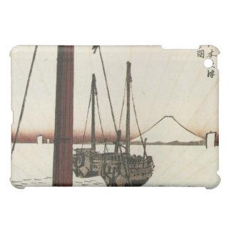 Mt Fuji viewed from a Boat circa 1800s iPad Mini Cover