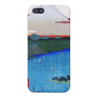 Mt. Fuji viewed from water circa 1800's iPhone 5 Cover