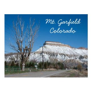 Mt. Garfield, Colorado Postcard