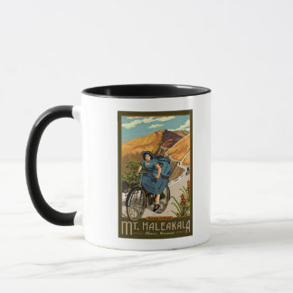 Mt. Haleakala Bicycle Rides Hawaii Mug