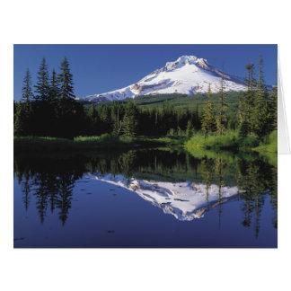 Mt. Hood And A Mirror Lake Big Greeting Card