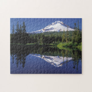 Mt. Hood And A Mirror Lake Jigsaw Puzzle