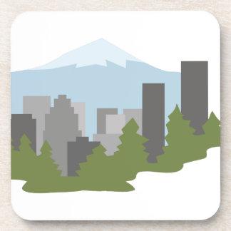 Mt. Hood Beverage Coaster