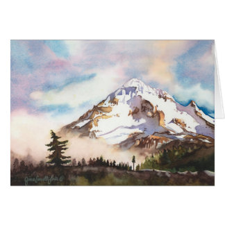 Mt. Hood Oregon Blank Card