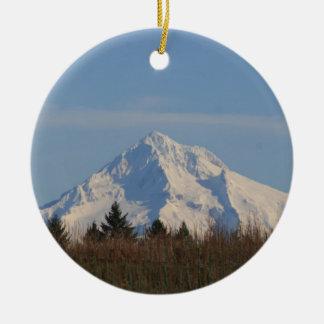 Mt Hood, Oregon Christmas Tree Ornaments