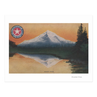 Mt. Hood, Oregon - San Francisco to Portland Postcard