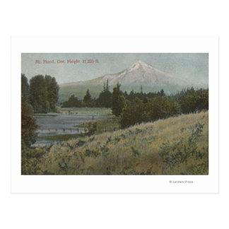 Mt. Hood, Oregon - View of Mountain from Hood Postcard
