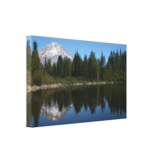 Mt. Hood Reflected in Mirror Lake Canvas Print