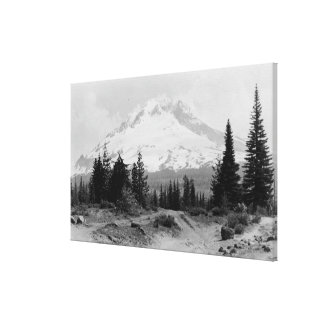 Mt. Hood View from Government Camp Photograph Canvas Print