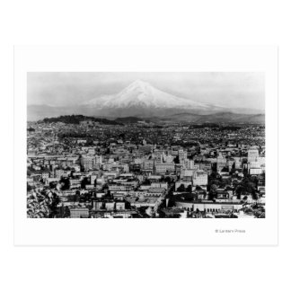 Mt. Hood View from Portland, Oregon Photograph Postcard