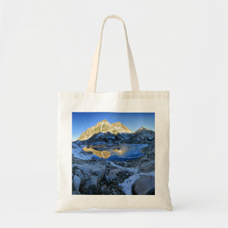 Mt Izaak Walton Over Bighorn Lake Sunrise - Sierra Tote Bag