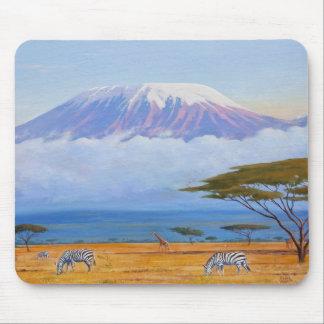 Mt. Kilimanjaro Mouse Pad