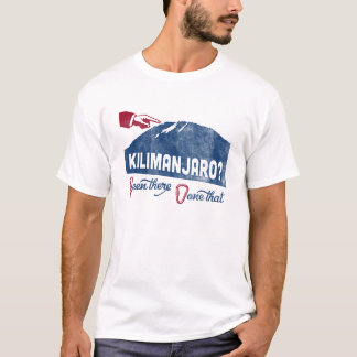 Mt Kilimanjaro T-shirt Mountain Climbing Tee