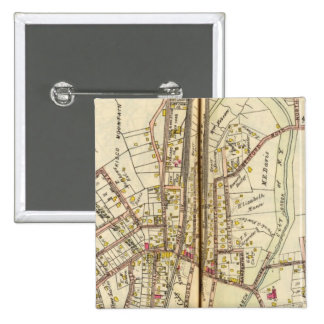 Mt. Kisco, New York 15 Cm Square Badge