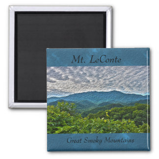 Mt. LeConte, Great Smoky Mountains Photo Magnet