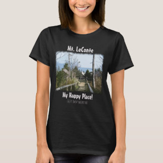 Mt. LeConte My Happy Place! in Great Smoky Mtns T-Shirt