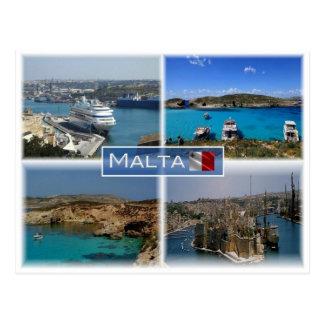 MT Malta - Postcard