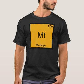 Mt - Matisse Funny Chemistry Element Symbol Tee