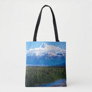 Mt. McKinley Alaska Tote Bag