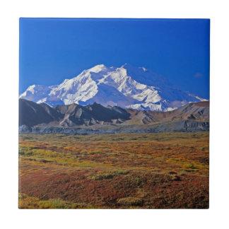 Mt . McKinley Denali National Park , Alaska Ceramic Tile