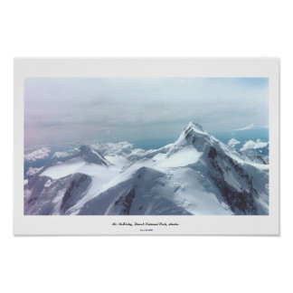 Mt. McKinley, Denali National Park, Alaska Poster