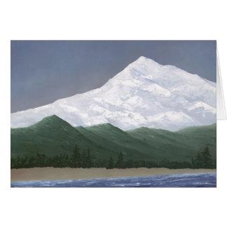 Mt. McKinley Greeting Card
