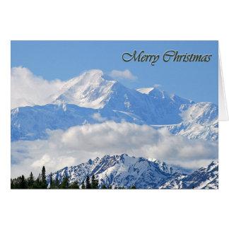 Mt. McKinley - Merry Christmas Card
