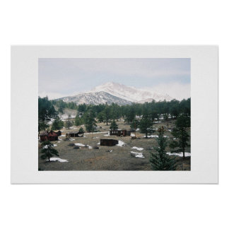 Mt. Meeker, Colorado Poster