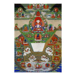Mt. Meru and the Buddhist Universe Poster