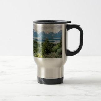 Mt. Moran and Jackson Lake Travel Mug