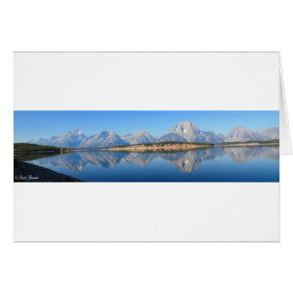 Mt. Moran Card