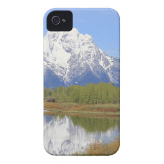 Mt. Moran Grand Teton National Park iPhone 4 Cases