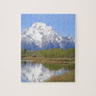 Mt. Moran Grand Teton National Park Jigsaw Puzzle